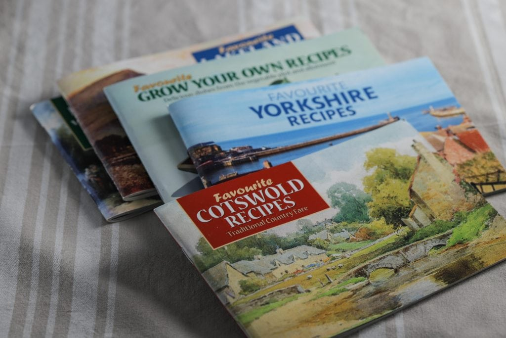 cotswold recipe book