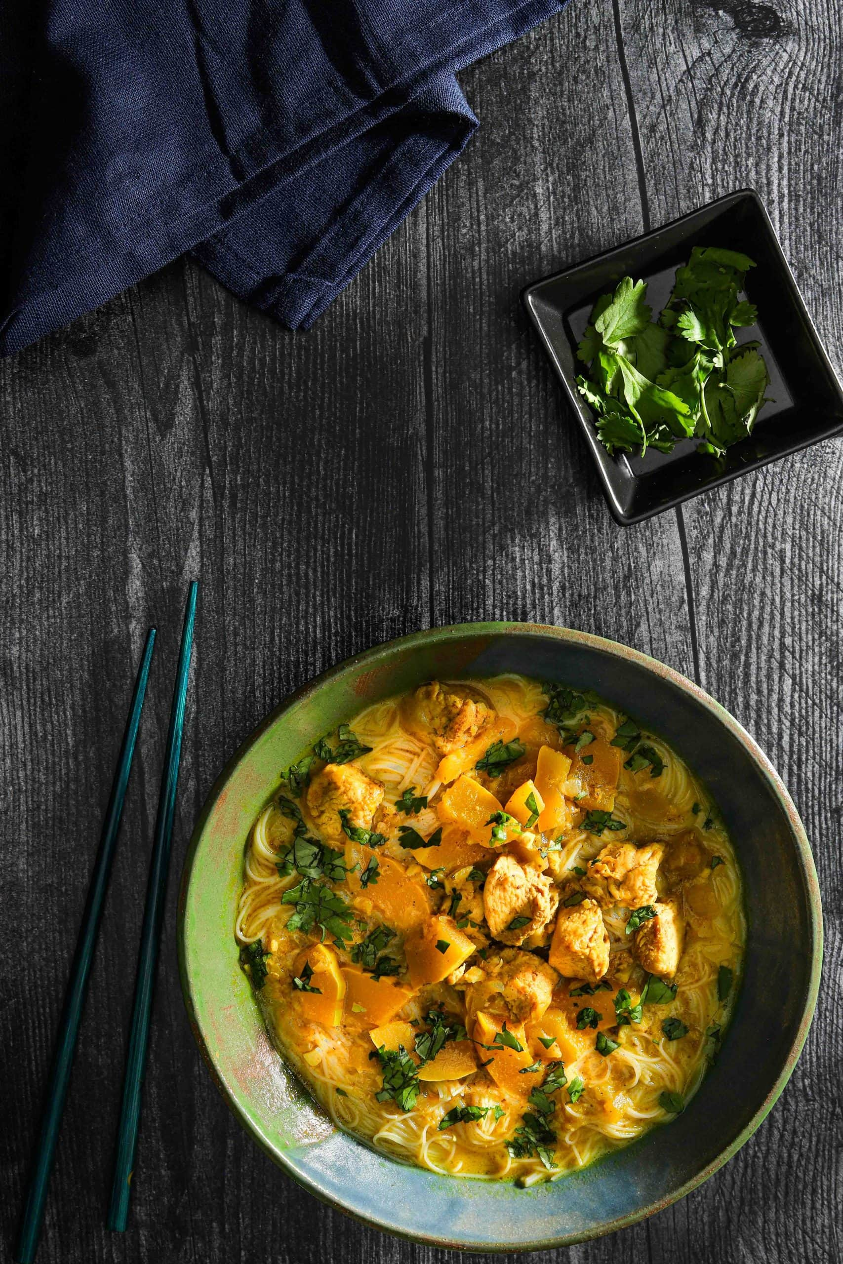 bowl of vietnamese chicken curry